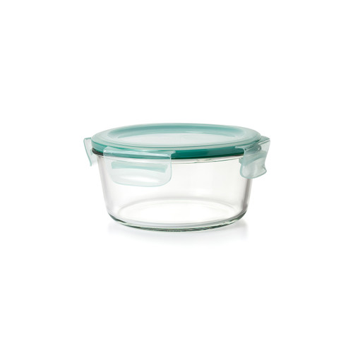OXO 7 Cup Smart Seal Glass Round Container