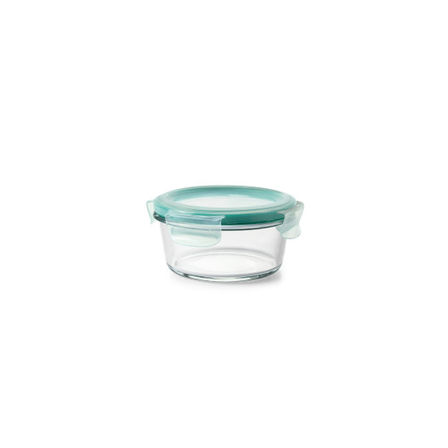 OXO 2 Cup Smart Seal Glass Round Container
