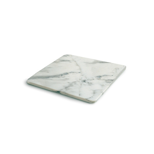 RSVP White Marble Pastry Board