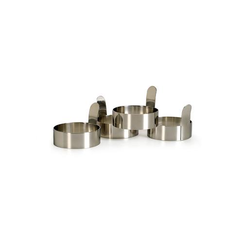 RSVP Stainless Steel Egg Rings (Set of 4)