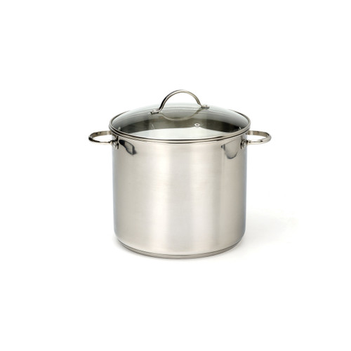 RSVP Stainless Steel 12qt Stockpot