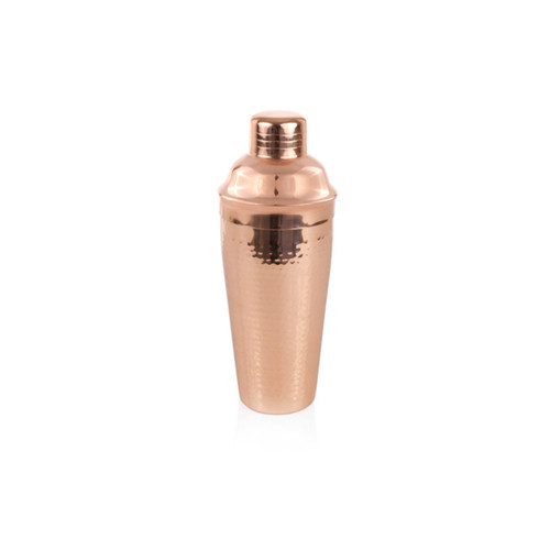 Twine Hammered Copper Cocktail Shaker