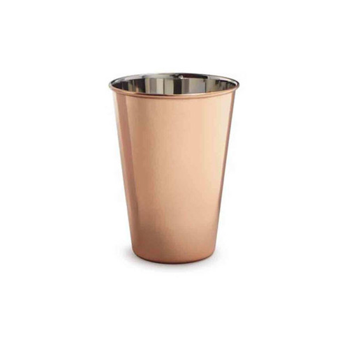 True Fabrications Solid Copper Pint Glass