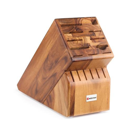 Wüsthof Acacia 17-Slot Knife Storage Block