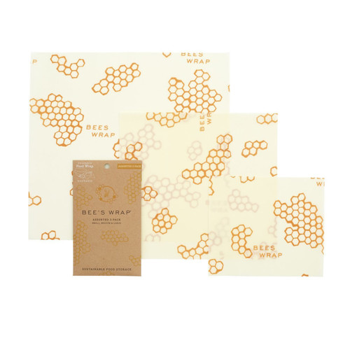Bee's Wrap Assorted Size Wraps (Set of 3)