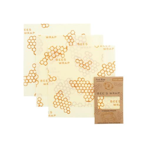 Bee's Wrap Cheese Wraps (Set of 3)