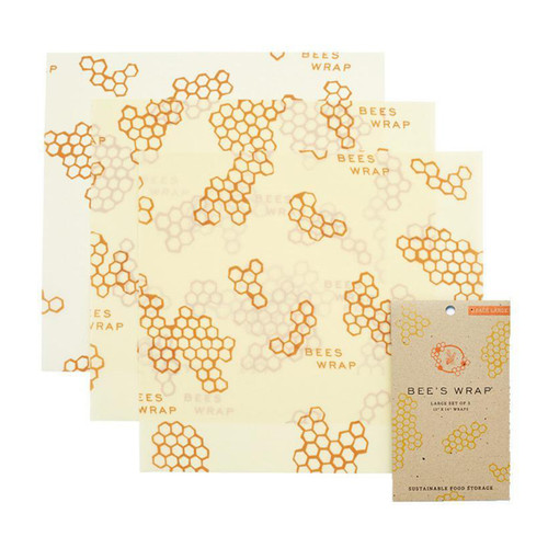 Bee's Wraps Large Wraps (Set of 3)