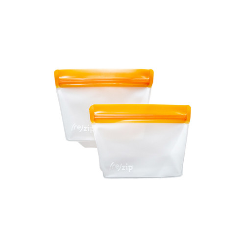 BlueAvocado Stand-Up 1-Cup Reusable Bags (Set of 2)