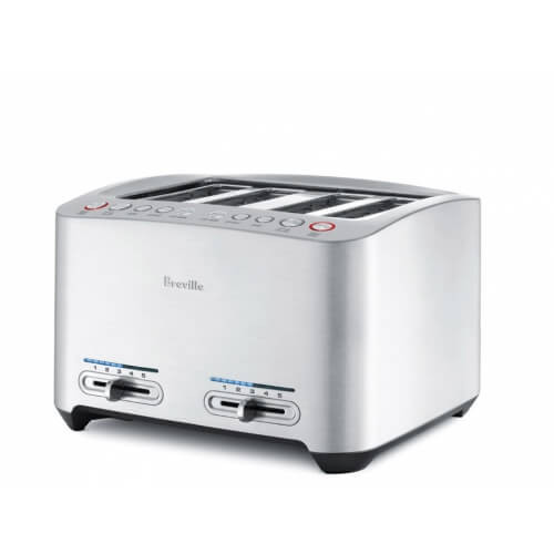 Die-Cast 4-Slice Smart Toaster