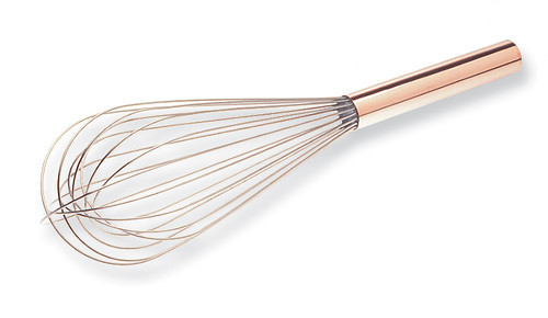"12"" Balloon Whisk, Copper Handle"