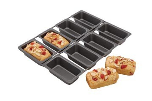 Mini Loaf Pan, NS 8 Count