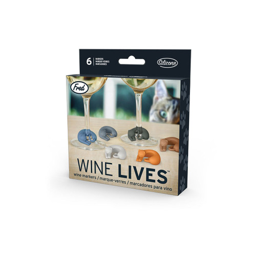 Fred Wine Lives Drink Markers