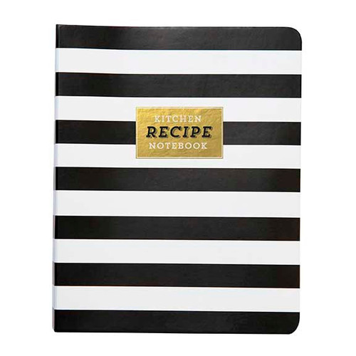 Mini Recipe Book, Stripes