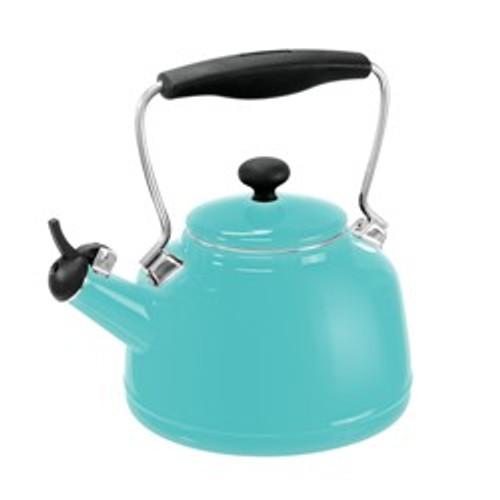Chantal Vintage Tea Kettle, Aqua