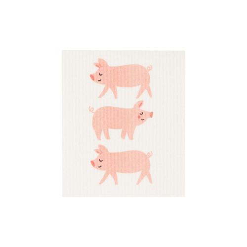 Now Designs Penny the Pig Swedish Dishcloth