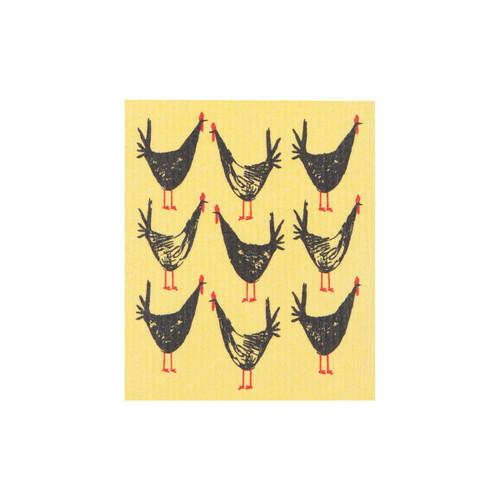 Now Designs Chicken Scratch Swedish Dishcloth