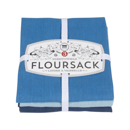 Now Designs Floursack Towels (Set of 3)