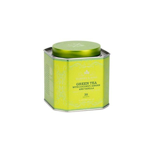 Harney & Sons Green Tea with Coconut, Ginger and Vanilla