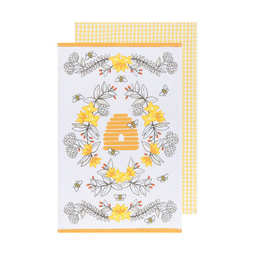 Now Designs Bees Towels (Set of 2)
