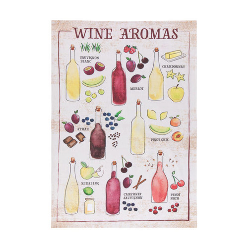 Now Designs Wine Aromas Towel