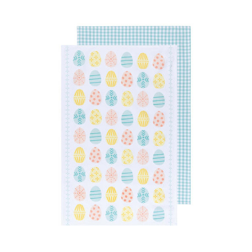 Now Designs Easter Eggs Towels (Set of 2)