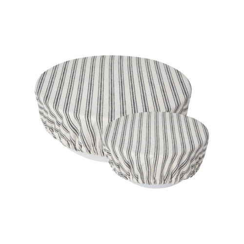 Now Designs Ticking Stripe Bowl Covers (Set of 2)