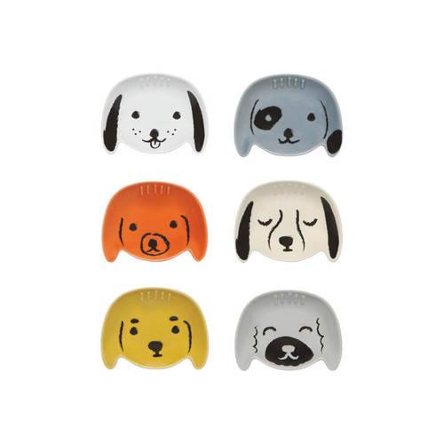 Now Designs Puppy Love Pinch Bowls (Set of 6)