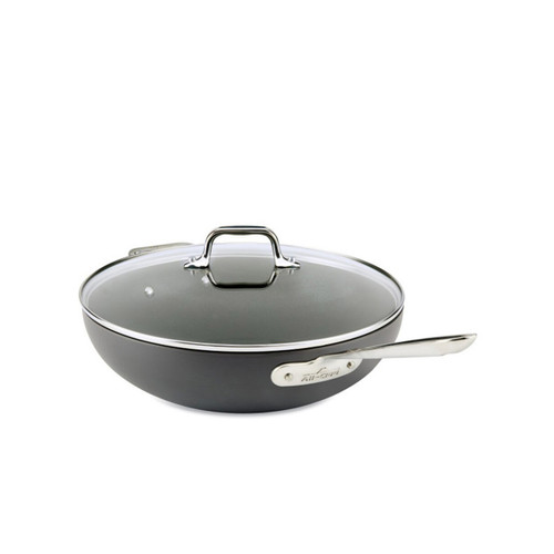 "All-Clad HA1 Nonstick 12"" Covered Chef Pan"