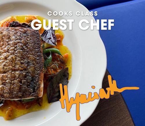 Hyacinth Visits Cooks - February 24, 2020