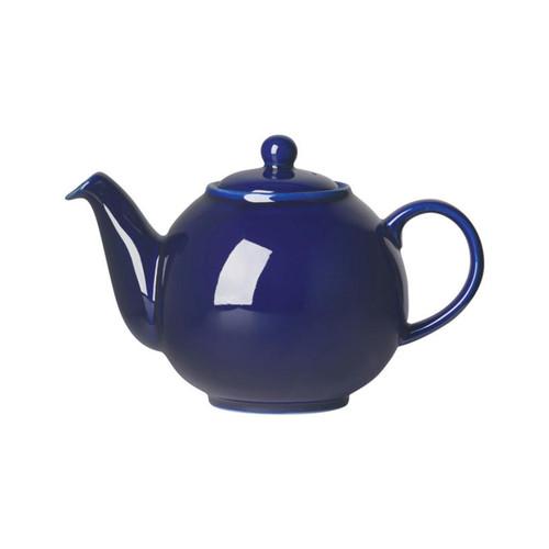 Now Designs Globe Cobalt Blue Teapot