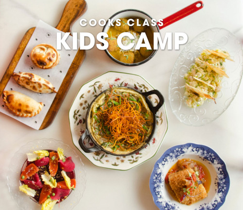 Kids Camp: Global Top Chef - August 17, 18, and 19, 2020