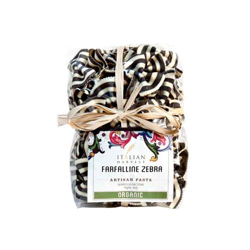 Italian Harvest Farfalline Zebra Black & White Bowties