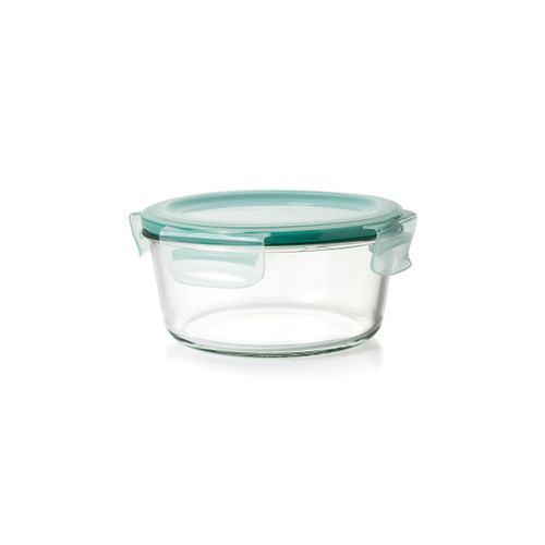 OXO Smart Seal Round Glass Container