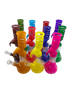 """10"""" Frosted Color Zong Perc Water Pipe Assorted Colors [PCL285] (MSRP $24.99)"""