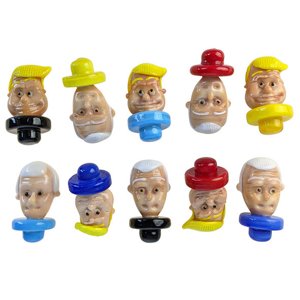Character Carb Caps - Cadidates - [T-1] [T-2] (Pack of 10) (MSRP $149.99)