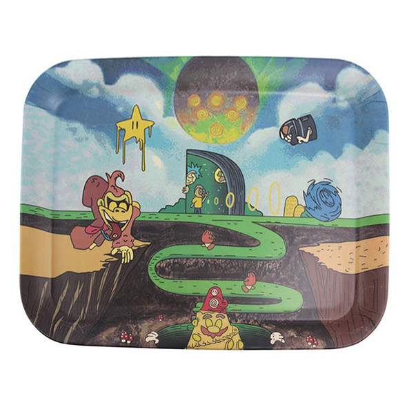 Bamboo Fiber Rolling Tray - Large [LCS4] (MSRP $28.99)