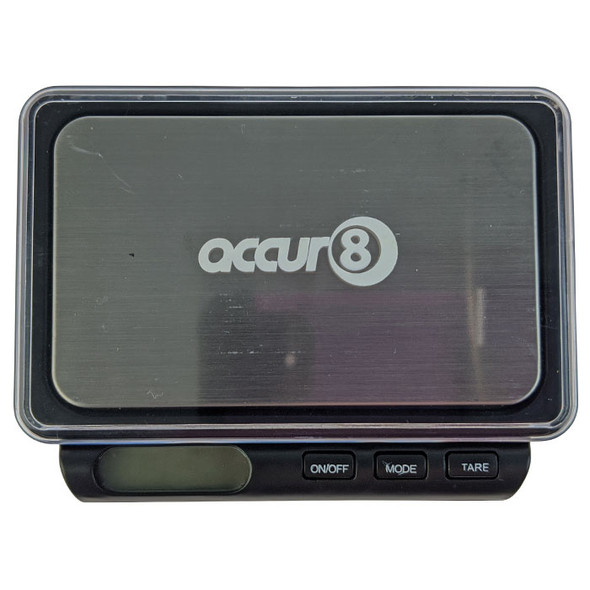 Accur8 Pocket Scale 100x0.01g-CRD-110 (MSRP $14.99)