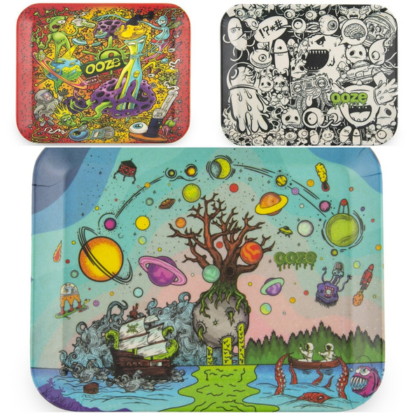 Ooze - Biodegradable Rolling Tray-Medium (MSRP $14.99)