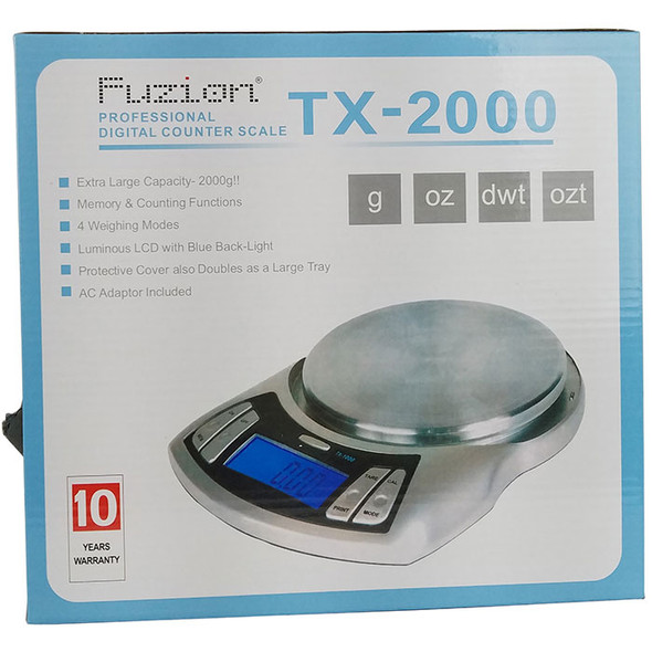 Fuzion Scale TX-2000 [TX2000]  (MSRP $75.99)