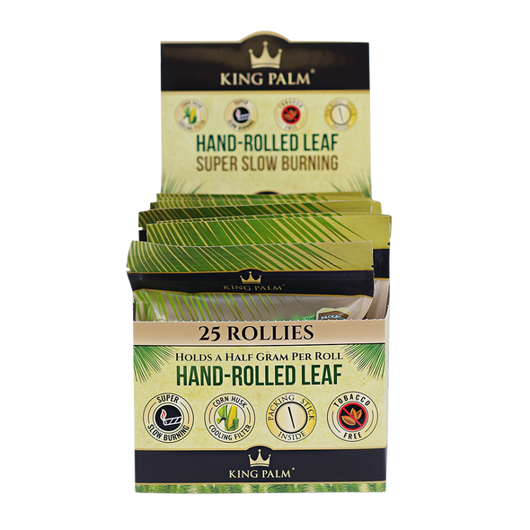 King Palm - 25-Pack Pouches CONE 8ct - KING Pre-Roll [KP-304] (MSRP $349.99)
