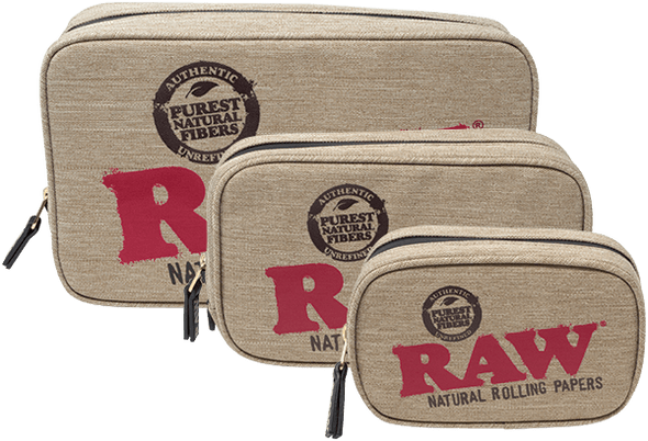 RAW - Smell Proof Smokers Pouch - (MSRP $ 29.99-49.99)