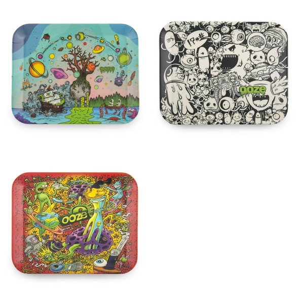 Ooze - Biodegradable Rolling Tray-Small (MSRP $9.99)