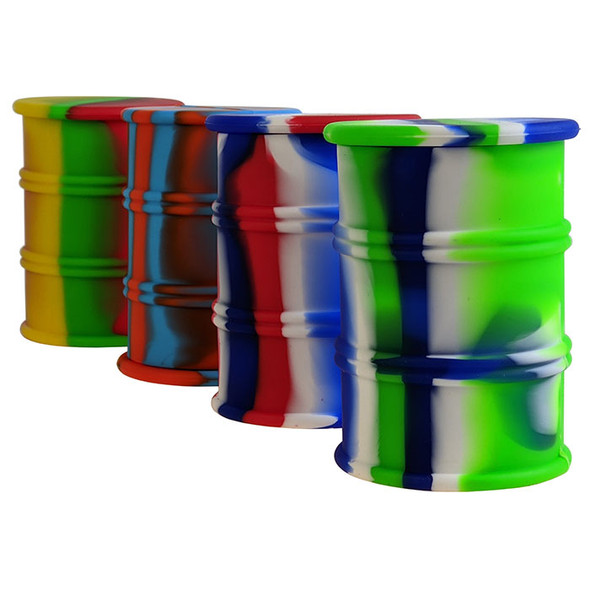 """3.8"""" Silicone Cont Oil Barrel [ST064] (MSRP $19.99)"""