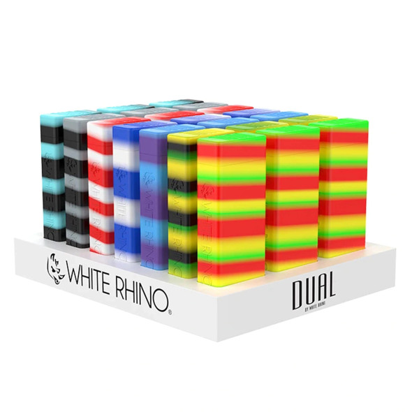 White Rhino - Dual Silicone Storage - (Pack of 21) [DU1001] (MSRP $659.99)