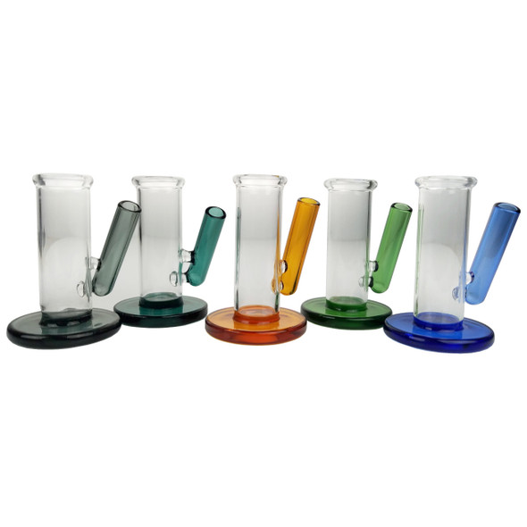 3'' Glass Carb Cap & Dabber Stand [FCD670] (MSRP $14.99)