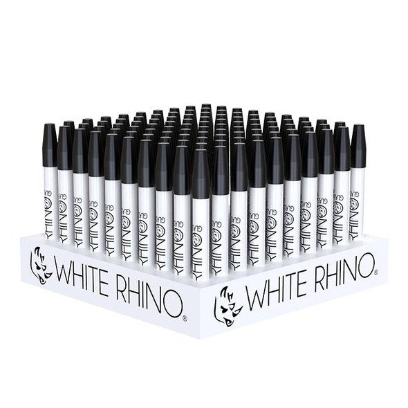 White Rhino - Cereamic Straw (Display of 100) [WRG2003] (MSRP $699.99)