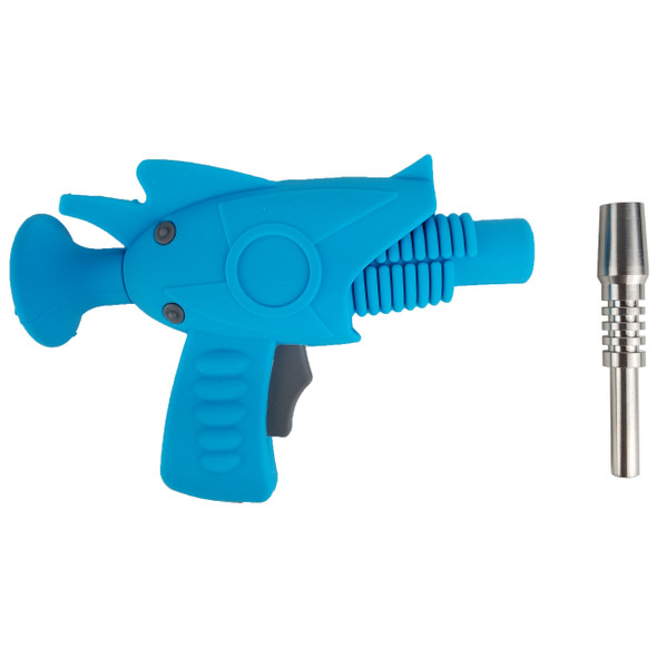8'' Silicone Ray Gun Nector Collector With Ti Tip - Single [SRS 649-T] (MSRP $24.99)