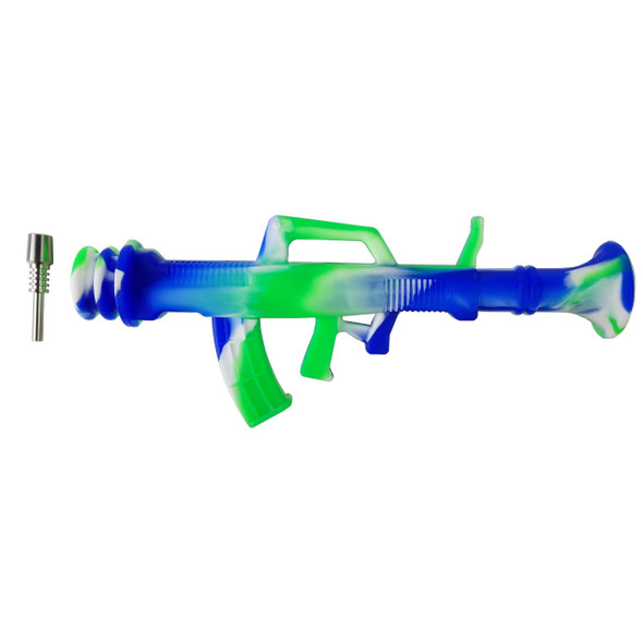 9.5'' Silicone Gun Nector Collector With Ti Tip (Pack of 5) [SRS713-T] (MSRP $49.99)
