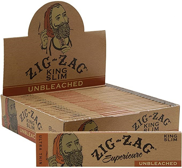 Zig Zag Unbleached Wide Tips 50CT (MSRP $46.99)