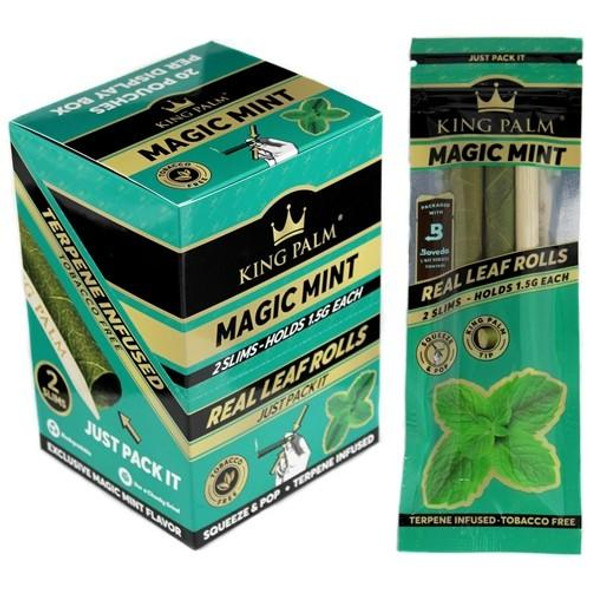 King Palm Filters Magic Mint (Display of 50) (MSRP $79.99)